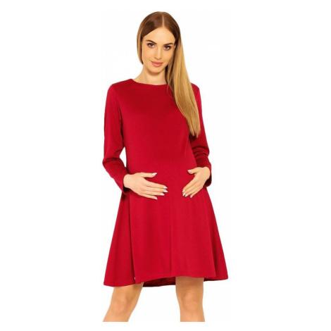 PeeKaBoo Těhotenské šaty Nathy červené