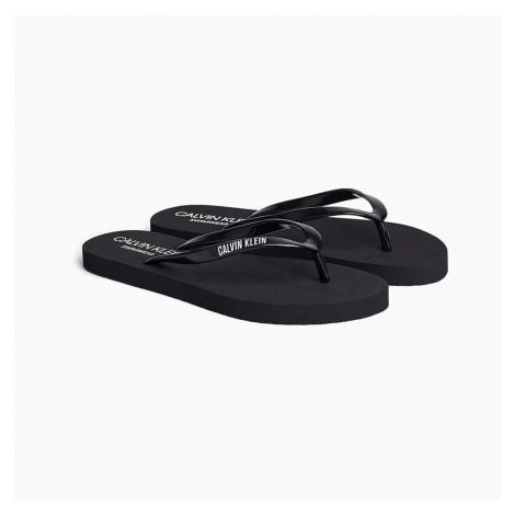 Černé žabky FF Sandals Intense Power Calvin Klein
