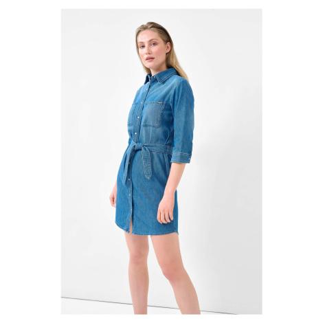 Košilové šaty z denimu Orsay
