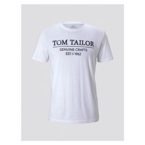 Tom Tailor pánské triko s logem 1021229/20000