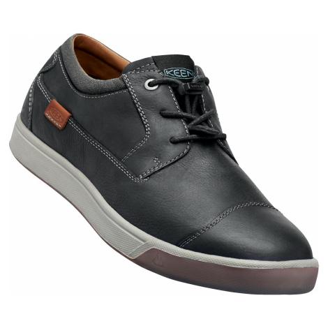 Keen Glenhaven M boty kožené černé