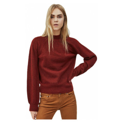 Pepe Jeans Pepe Jeans dámský vínový svetr CLOTILDA