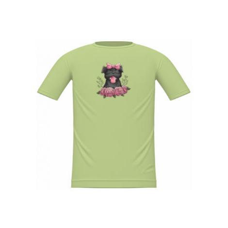 Dětské tričko Pejsek s mašličkou