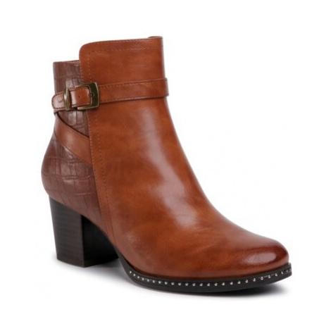 Kotníkové boty Clara Barson WYL1891-9 Ekologická kůže /-Ekologická kůže