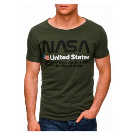 Inny Zelené tričko NASA S1436