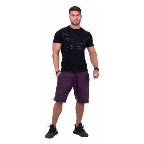Nebbia More than basic! tričko 145 černé