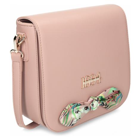 Růžová dámská kabelka menší velikosti Baťa