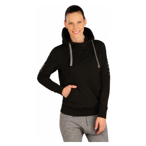 LITEX Mikina dámská s kapucí J1262901 černá