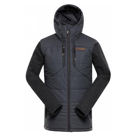 ALPINE PRO NISIF Pánská bunda MJCP360779 tmavě šedá