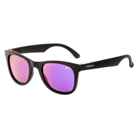 RELAX Sazan Dětské sluneční brýle R3085B černá 12(31)