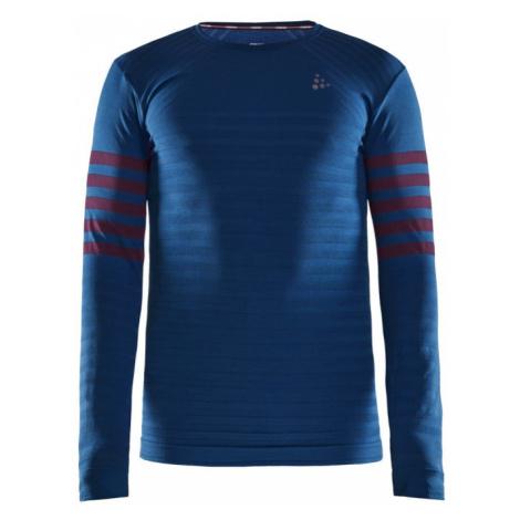 Pánské tričko CRAFT Fuseknit Comfort B tm. modrá