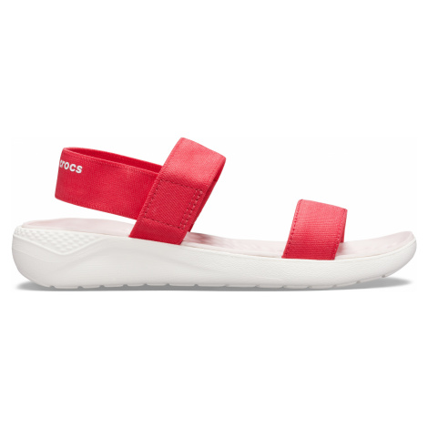 Crocs LiteRide Sandal W Poppy/White W9