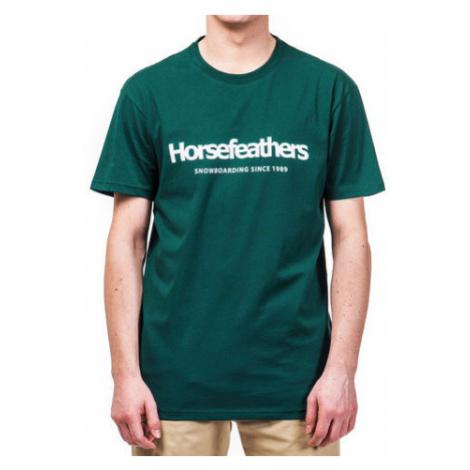 Tričko Horsefeathers Quarter bistro green