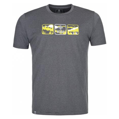 Pánské outdoorové tričko KILPI GIACINTO-M tmavě šedá