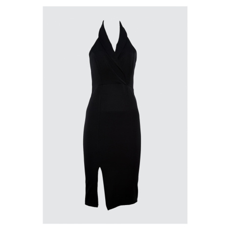Trendyol Black Jacket Dress