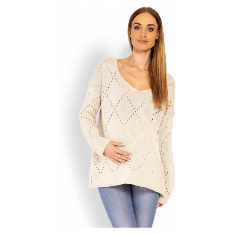 Těhotenský svetr model 114544 PeeKaBoo one-size-fits-all Pee Ka Boo