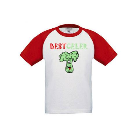 Dětské tričko baseball Best celer