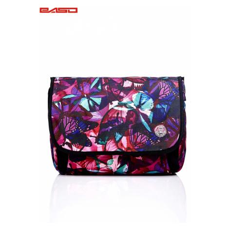 Školní taška přes rameno se vzorem motýlů FPrice