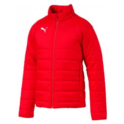 Puma LIGA CASUALS PADDED JACKET červená - Pánská zimní bunda