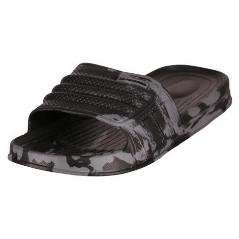 Sportovní pantofle Alpine Pro KALMANE - černá