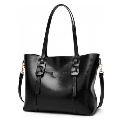 Černá dámská luxusní kabelka Laura Lulu Bags