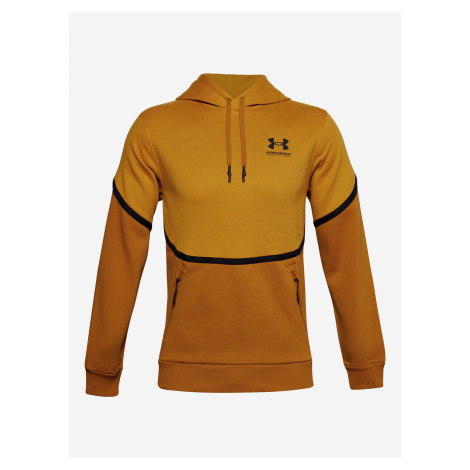 Rival Fleece AMP Mikina Under Armour Žlutá