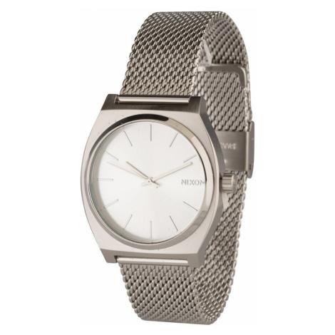 Nixon Analogové hodinky 'Time Teller Milanese' stříbrná