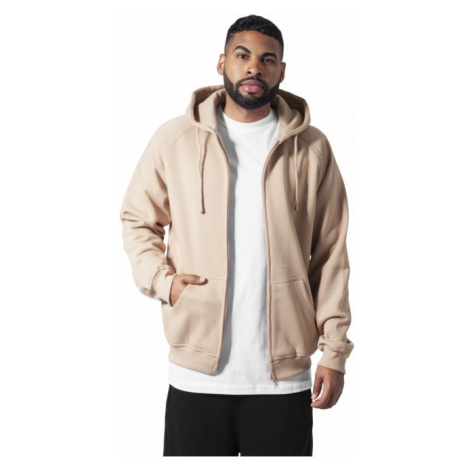 Urban Classics Zip Hoody beige