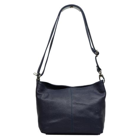 Malá kožená kabelka Batilda Blu