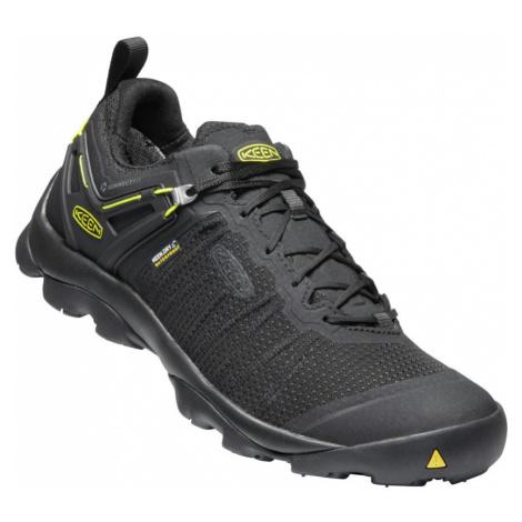 KEEN VENTURE WP M Pánská treková obuv 10005918KEN01 black/vibrant yellow