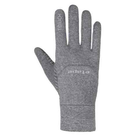 Etape SKIN WS+ šedá - Sportovní zateplené rukavice