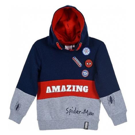 Spiderman chlapecká mikina s nápisem amazing Spider-Man