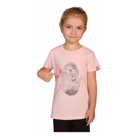 Dětské triko Alpine Pro GARO 2 - světle růžová