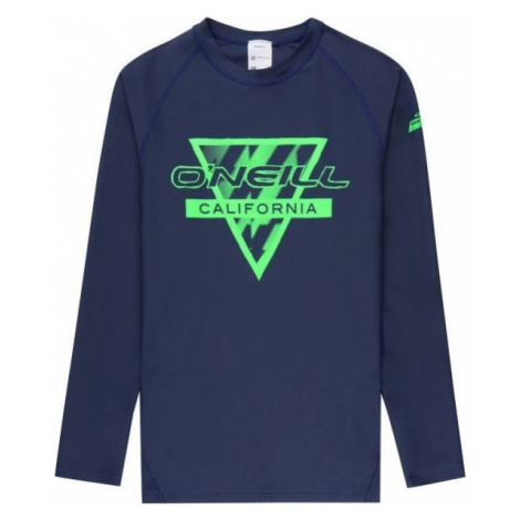 O'Neill PB LONG SLEEVE SKINS tmavě modrá - Dětské koupací triko s UV filtrem