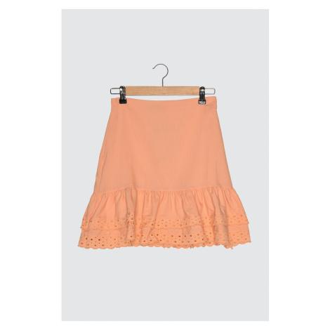 Trendyol Salmon Ruffle Skirt