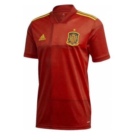 Dres adidas Spain Home Jersey Červená / Žlutá