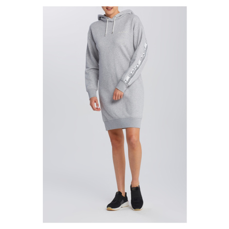 ŠATY GANT D1. 13 STRIPES HOODIE DRESS