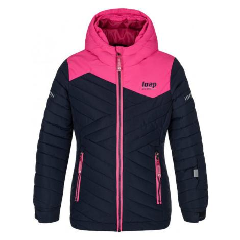 LOAP FURETA Dětská lyžařská bunda OLK2003M37J modrá