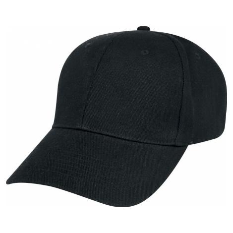 Forplay Bejzbalová čepice Baseballová kšiltovka černá