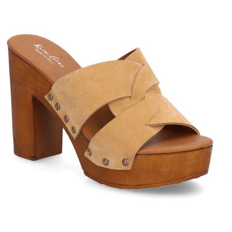 Kate Gray pantofle - velur