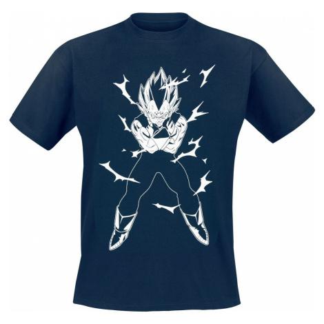 Dragon Ball Z - Vegeta tricko tmavě modrá