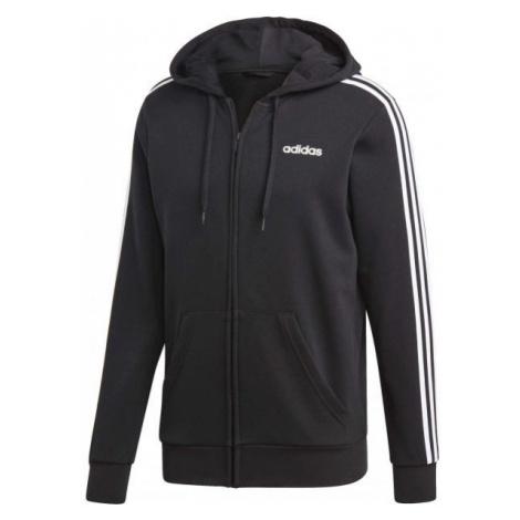 adidas E 3S FZ FT černá - Pánská mikina s kapucí