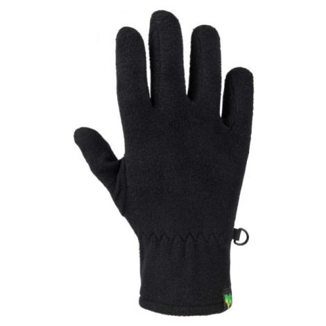 Lewro EMILIO černá - Dětské fleecové rukavice