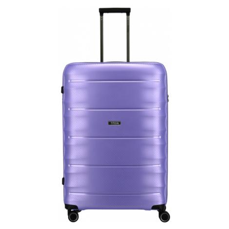 Cestovní kufr Titan Highlight 4W L 842404-19 112 L fialová
