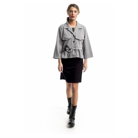 Mamatayoe Villandry Dámský kabátek šedý