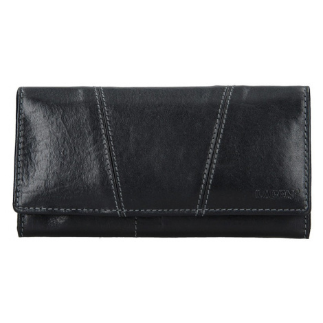 Dámská kožená peněženka Lagen Kalisto - černá