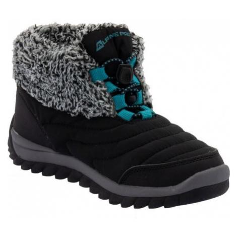 ALPINE PRO SOUNDO černá - Dětské zimní boty