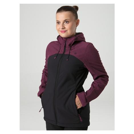 LECNA women's softshell jacket gray