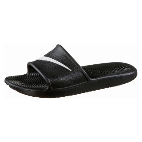 Nike Sportswear Pantofle 'Kawa Shower' bílá / černá