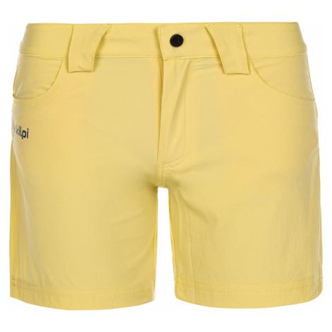 Dámské kraťasy KILPI SUNNY-W žlutá